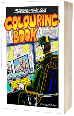 Live and how to live it 3d colouring book